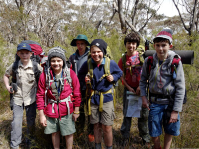 Bushwalking Gear List for Scouts