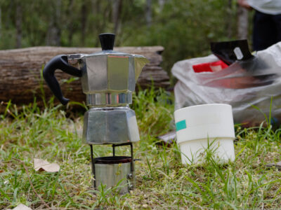 Eco friendly bushwalking stoves
